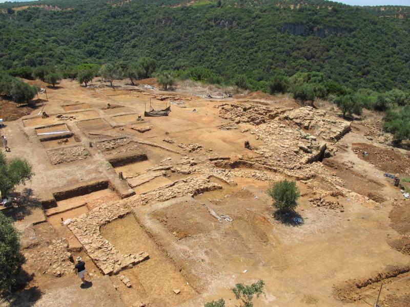 El texto escrito más antiguo de Europa encontrado en Iklaina, la primera ciudad-estado de Grecia