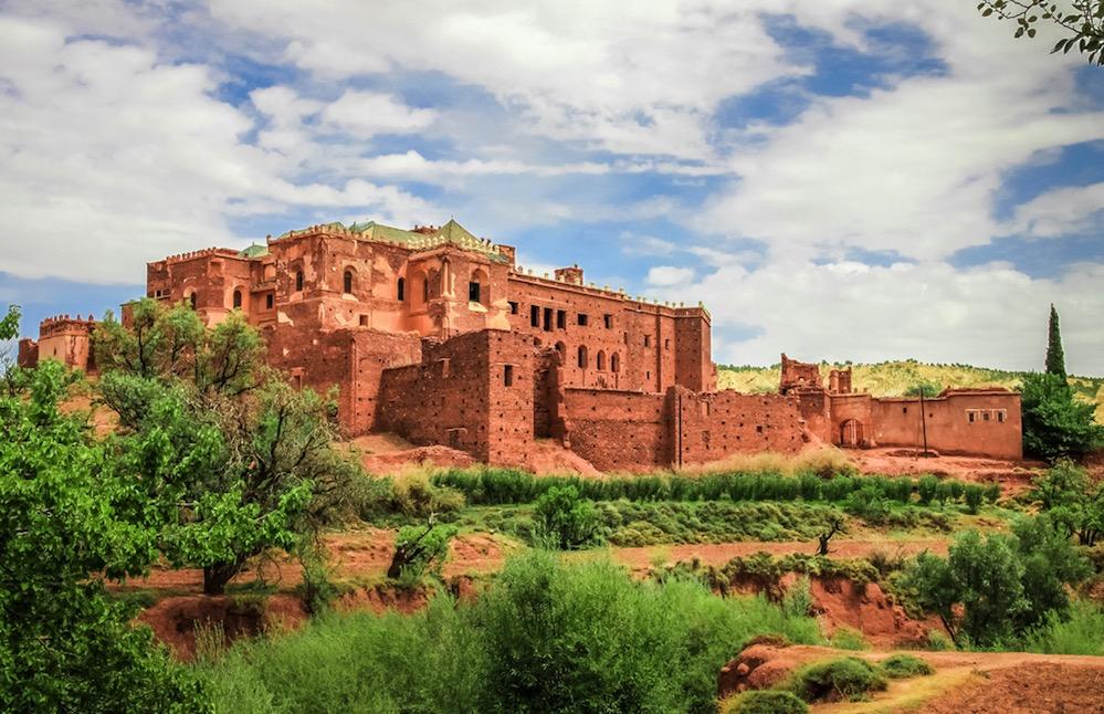 La kasbah de Télouet, residencia del Señor del Atlas