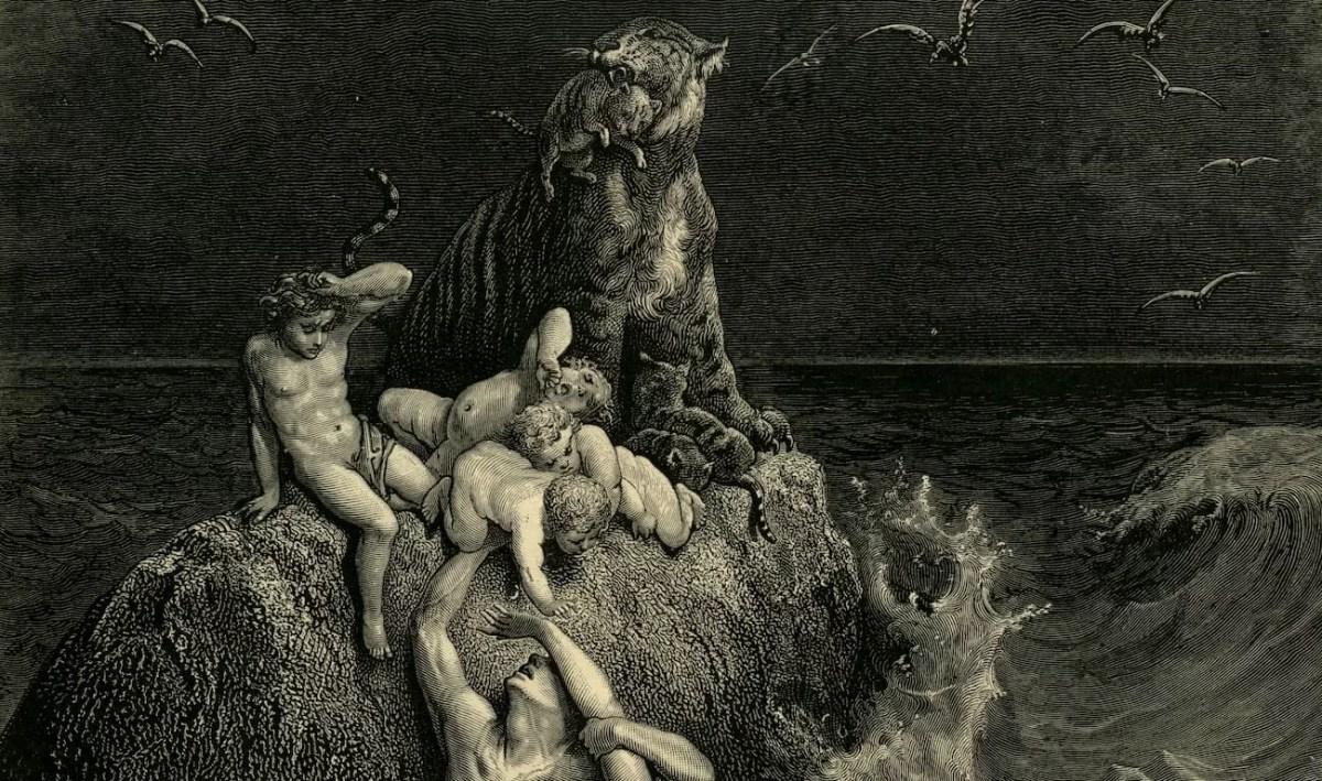 El diluvio de Gustave Dore