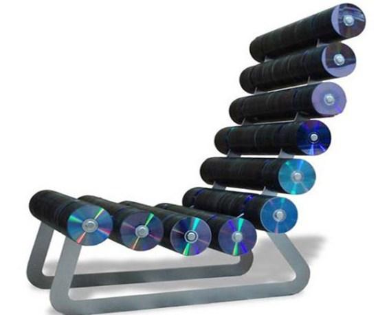 El reciclaje, nueva fuente de materiales para el arte y el diseño
