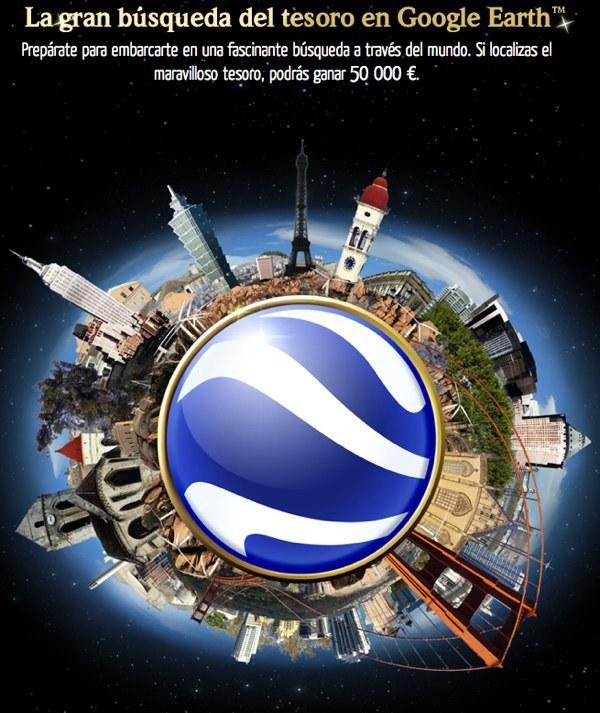 La Gran Búsqueda del Tesoro en Google Earth