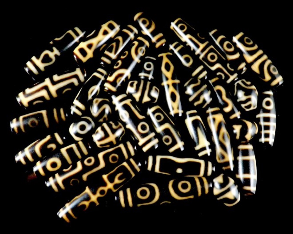 Las Cuentas de Dzi, milenarios amuletos tibetanos de origen incierto