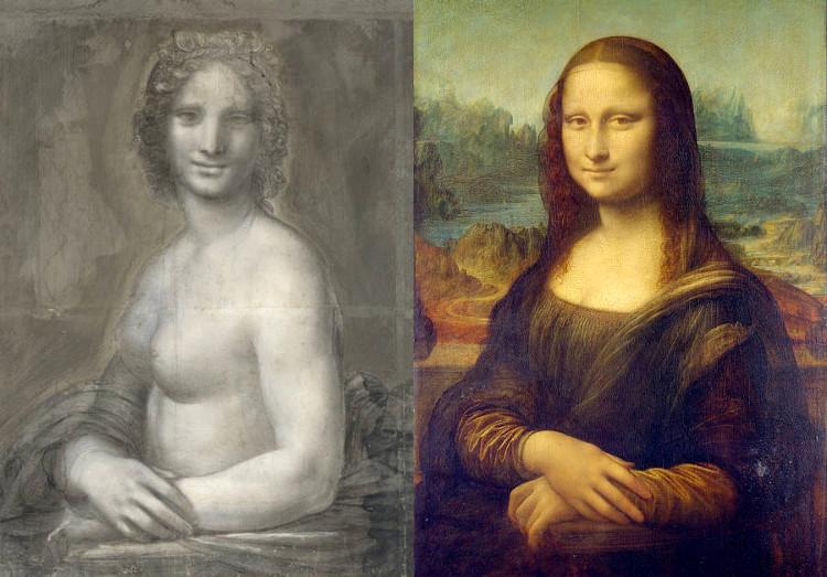 Mona Vanna, la Mona Lisa desnuda que algunos especialistas atribuyen al propio Leonardo da Vinci