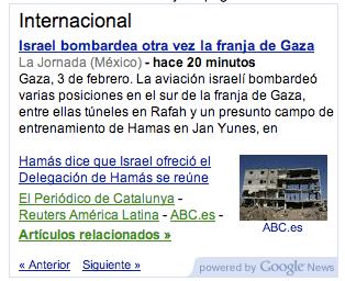 Mostrar las noticias de Google en tu blog o web