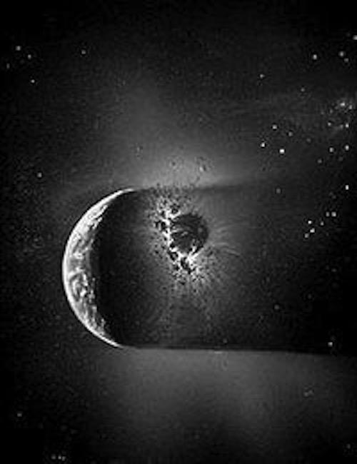 Anomalías de la gravedad en la Luna