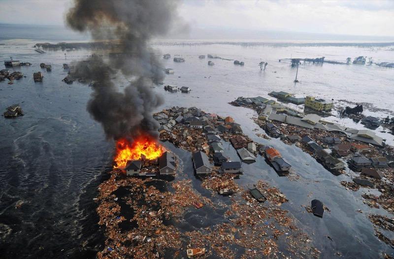 Terremoto y tsunami en Japón en fotos