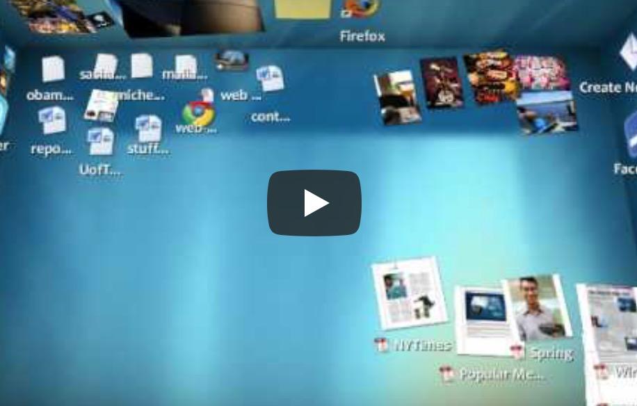 BumpTop, un escritorio en 3D para Windows
