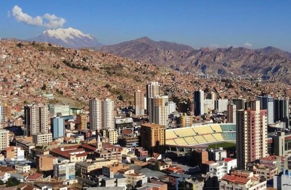 La Paz, la (no) capital a mayor altitud del mundo