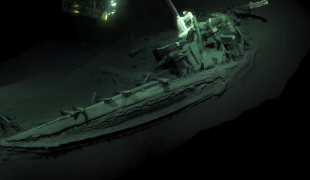 Encuentran el pecio intacto más antiguo del mundo, un barco griego de hace 2.400 años