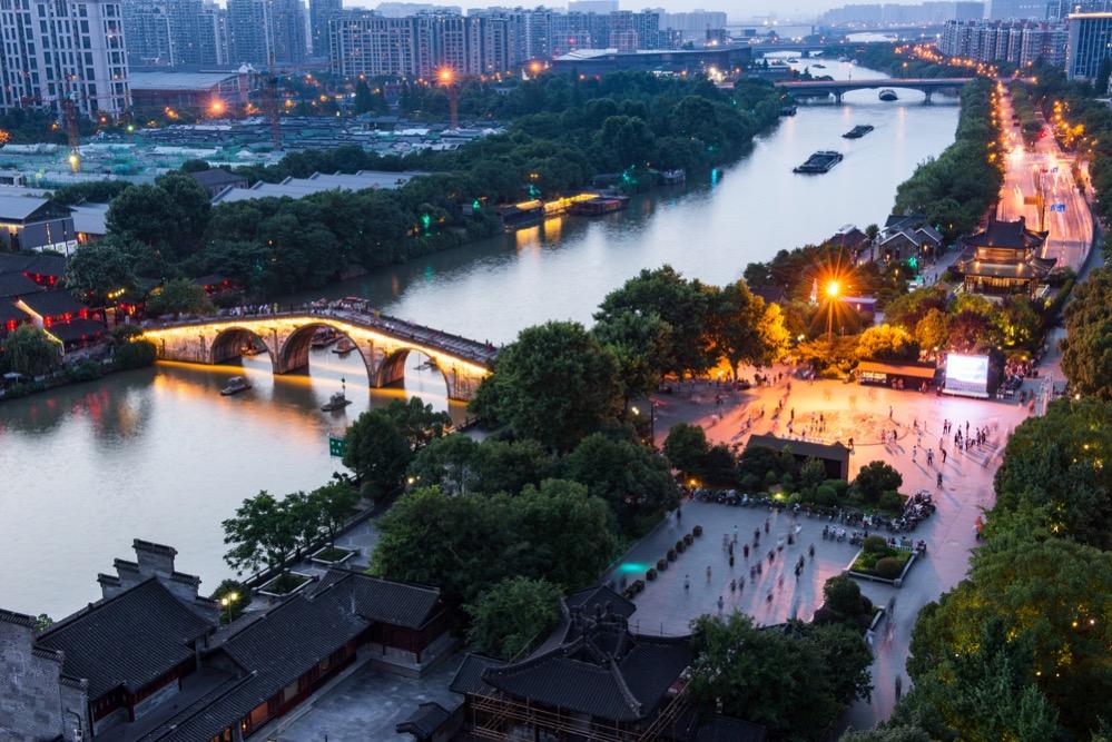 El colosal Gran Canal de China, que alcanzó los 1.800 kilómetros de longitud