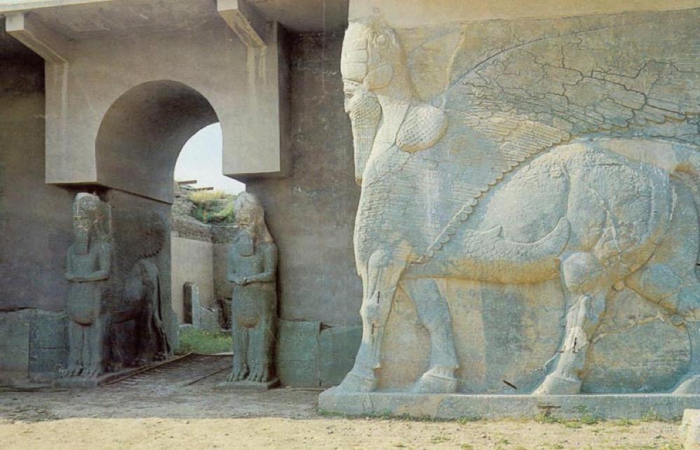 Los Asirios, el pueblo que construyó un imperio en Mesopotamia hace 4.000 años, aun existen