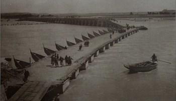 El Tigris a su paso por Nínive en 1920
