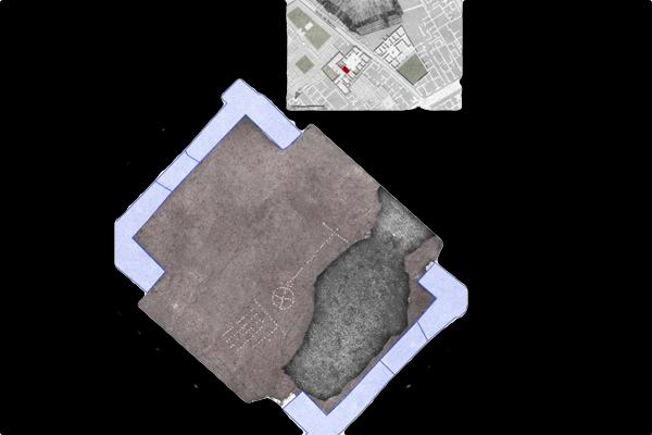 Encuentran en Pompeya mosaicos e imágenes del trabajo de los Gromáticos romanos, hasta ahora solo vistas en códices medievales