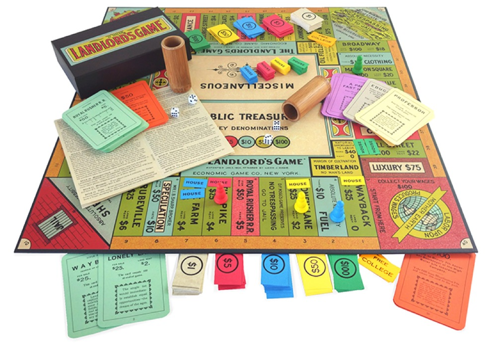 La historia del juego de mesa creado para explicar una doctrina anti-monopolios que, irónicamente, se convirtió en el Monopoly