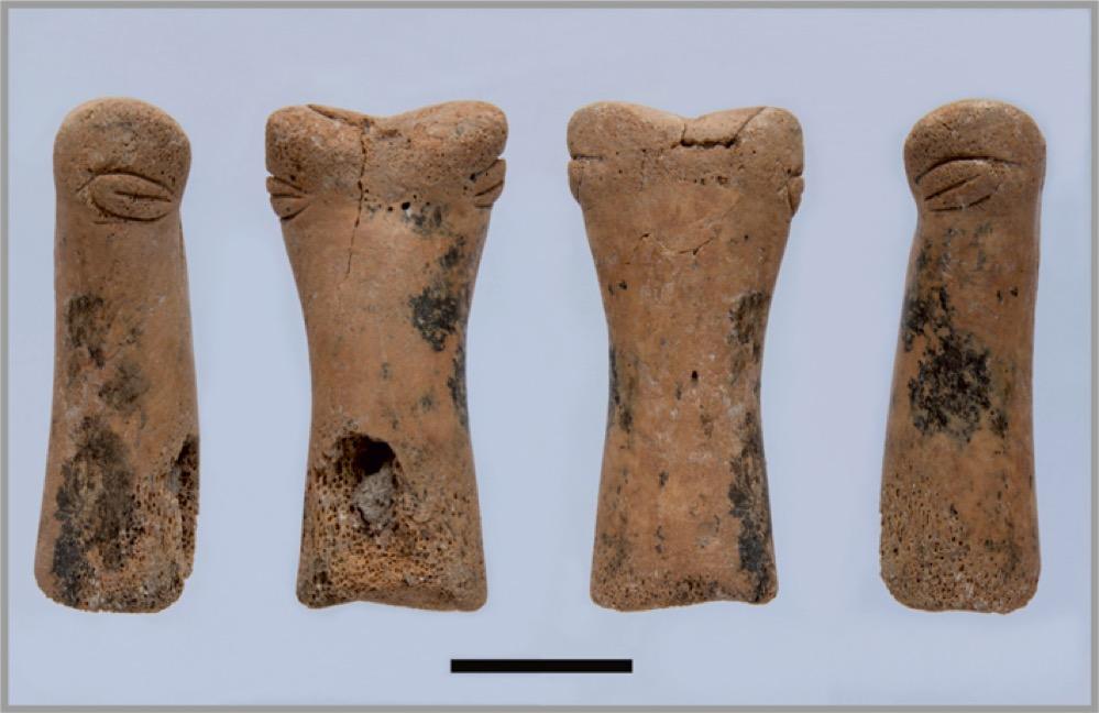 Encuentran una pequeña escultura neolítica de hueso en Çatalhöyük