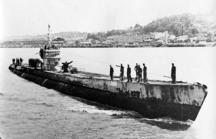 U-864, el único submarino hundido en combate por otro cuando ambos estaban sumergidos