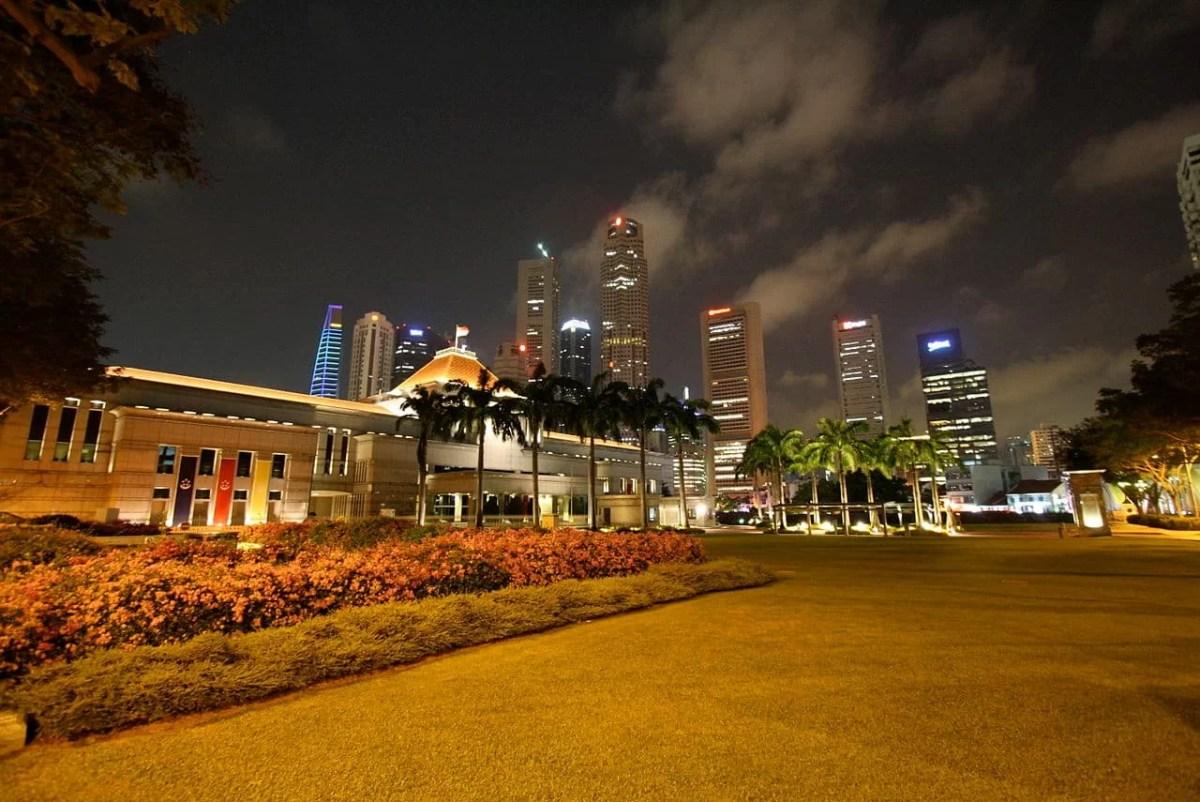 Parlamento de Singapur en la actualidad