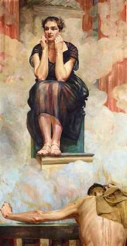 La Pitia del oráculo de Delfos