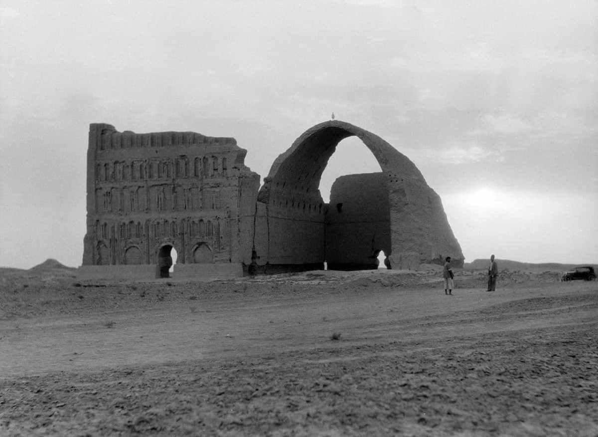Ruinas de Ctesifonte en 1932