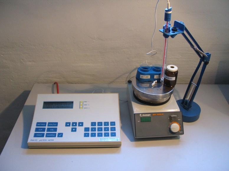 1098 Radiometer pH meter