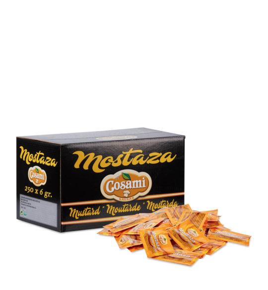 Monodosis de mostaza