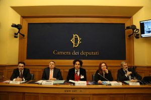da sin Massimo Zenti, Sen. Raffaele Mautone, Daniel Della Seta, On. Fabiola Bologna, Prof. Giuseppe Plazzi
