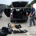 plongee recycleur epave le France lac Annecy Deep CCR Tartiflette Team