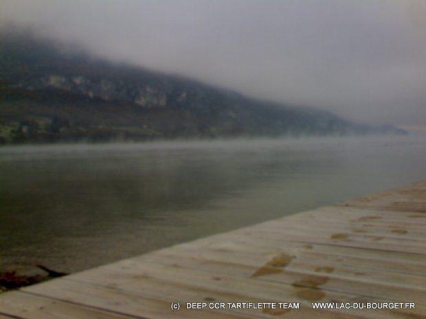Météo lac du Bourget Plongée en Décembre