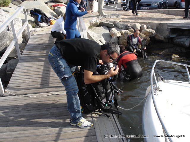 Préparation du Matériel de plongée