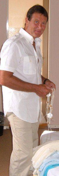 Marcel Fondacci avant son accident de plongée