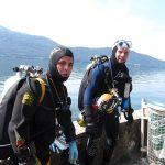 Bapteme plongee trimix lac du Bourget Tartiflette Team