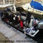 plongee epave avion allemand fw58 lac du bourget deep ccr tartiflette team