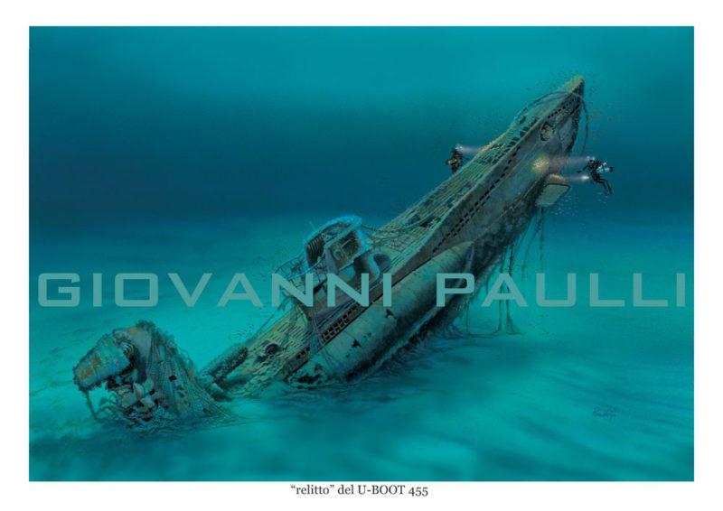 Plongée sur l'épave disparue du sous-marin U455