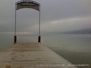 Decembre avant de plonger a chindrieux lac du bourget
