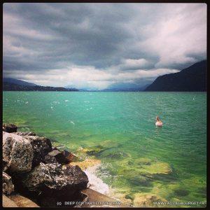 Plongee Pierre à Bise lac du Bourget pointe de la Buffaz