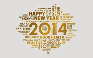 Bonne Année Happy New Year 2014