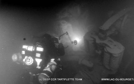 Plongée salle des moteurs épave Haven