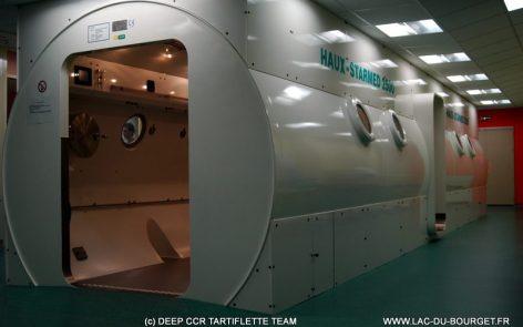 Le nouveau Caisson Hyperbare du CHU de Lyon