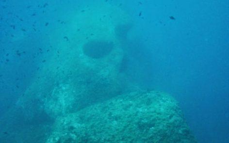 Tete de mort site de plongée Ajaccio