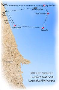 Voyage plongée croisière plongée triangle d'or brothers daedelus elphinstone