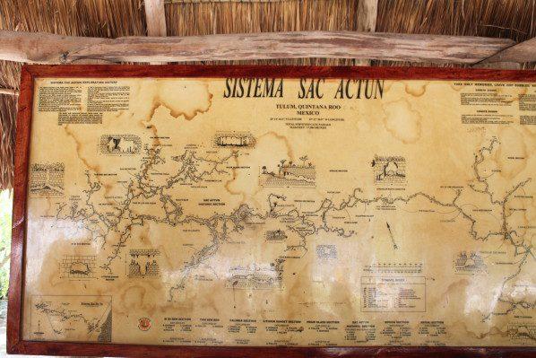 Des kilomètres de long et de ramifications pour les réseaux souterrains des Cénotes