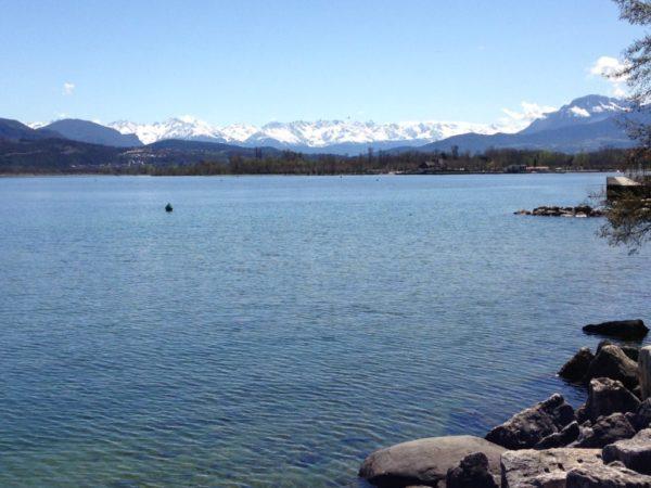 Plongee au lac du Bourget Charpignat