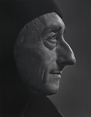 Jacques Cousteau photographié par Yousuf Karsh en 1972