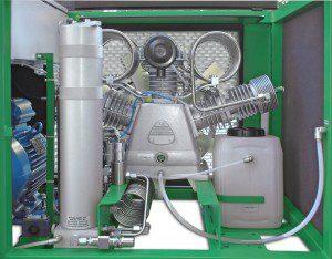 Compresseur de plongée Paramina Typhoon Classic 15-18m3/h