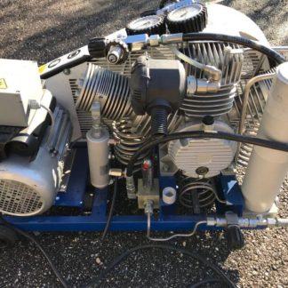 Compresseur de plongée d'occasion Paramina Mistral 6m3/h double pression de sortie 240/310b