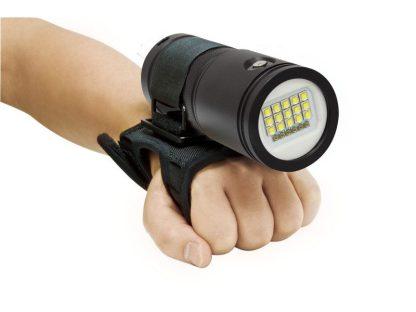 Gant souple goodman pour la Lampe de plongée Bigblue 3500P