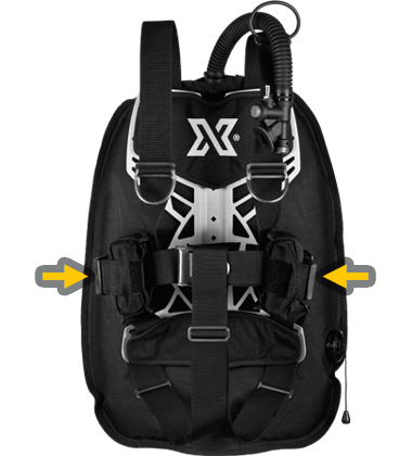 Lestage du harnais NX Xdeep Ghost Deluxe