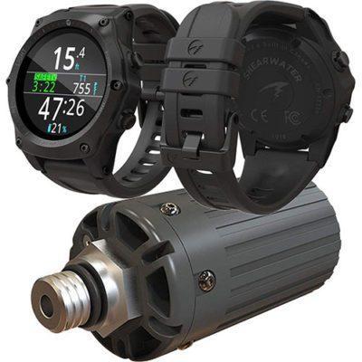 Transmetteur de pression ordinateur de plongée Shearwater Teric dans les meilleurs ordinateurs de plongée 2020