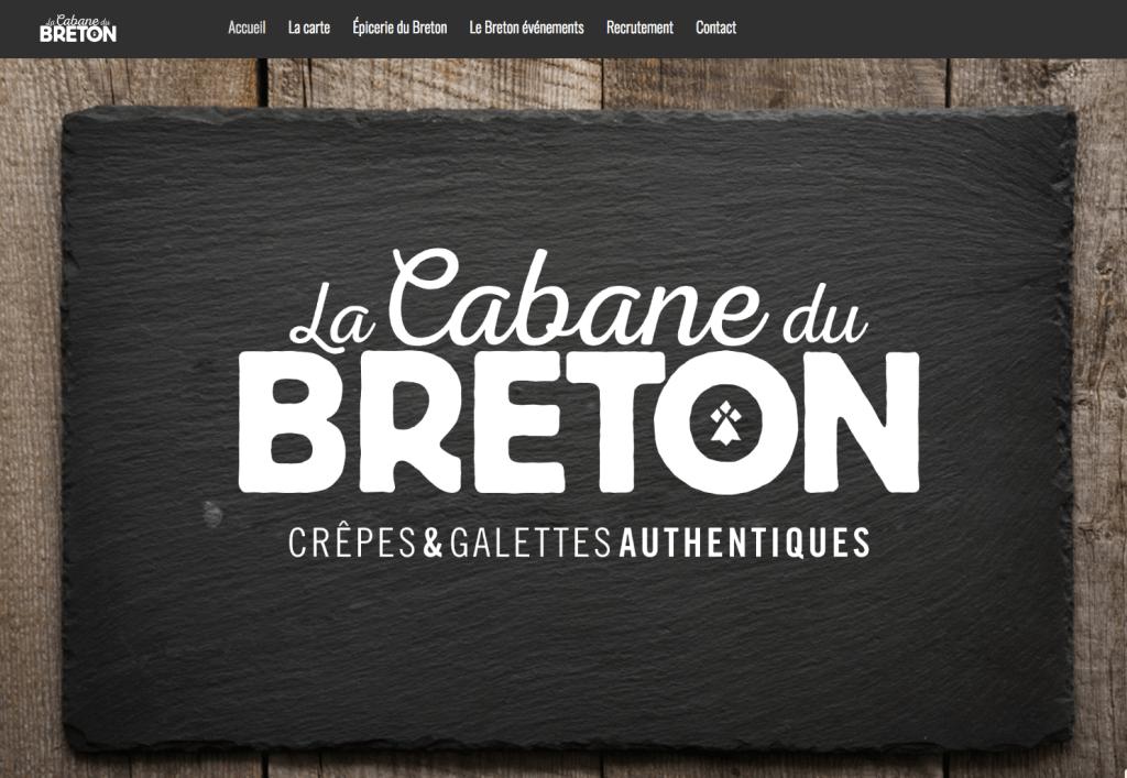 Lancement du site de la Cabane du Breton