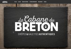 Lancement du site de la cabane du breton !